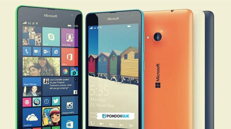 Microsoft Luncurkan Lumia 535 Dual Sim