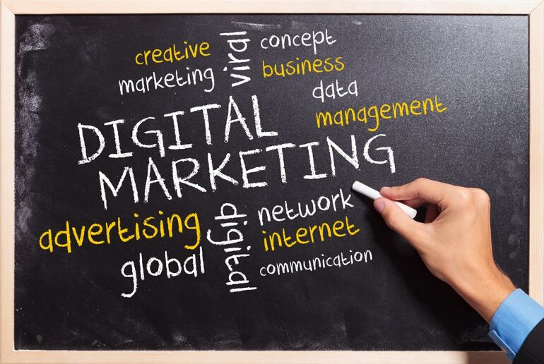 Ilustrasi Digital Marketing Agency | Image by candyboxmarketing.com