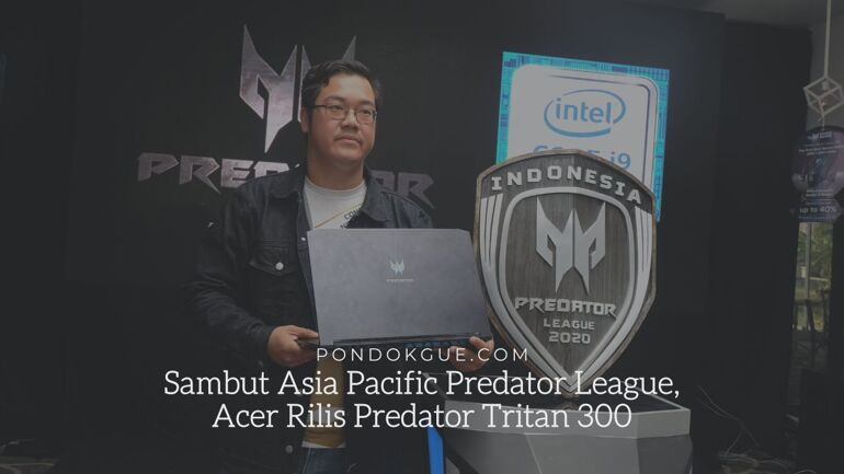 Sambut Asia Pacific Predator League, Acer Rilis Predator Tritan 300