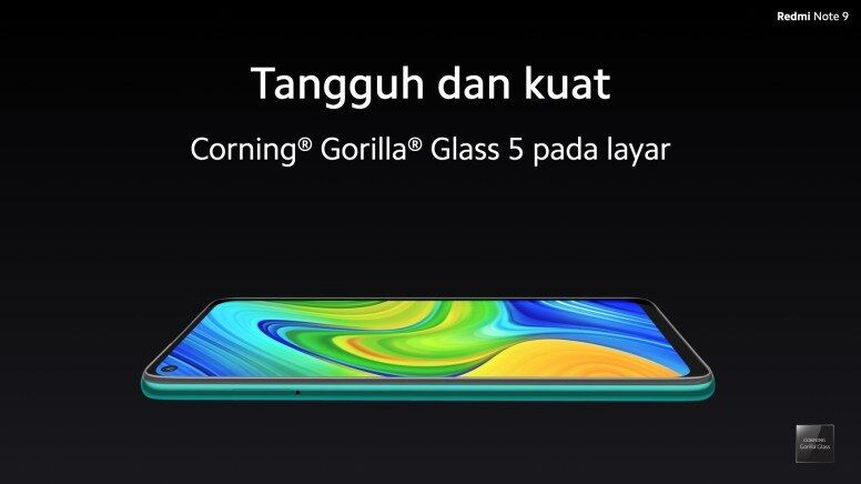 Corning Gorilla Glass 5 Redmi Note 9