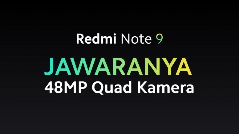 Redmi Note 9 JAWARANYA Kamera Quad Core