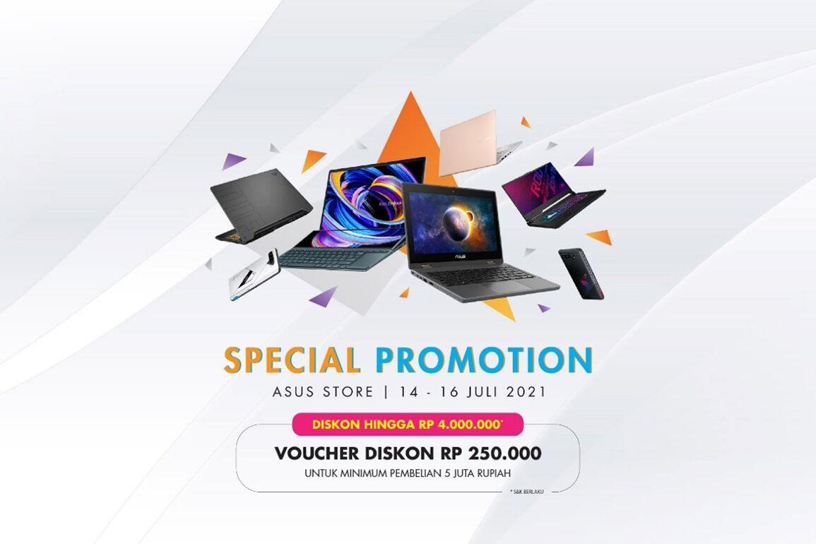 Beli Laptop Resmi di ASUS Online Store - Mudah, Nyaman dan Ekstra Garansi